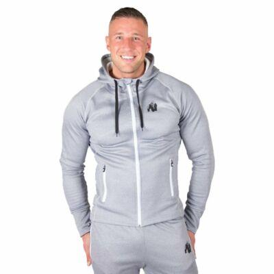 Gorilla Wear Bridgeport Zipped Hoodie (ezüst)