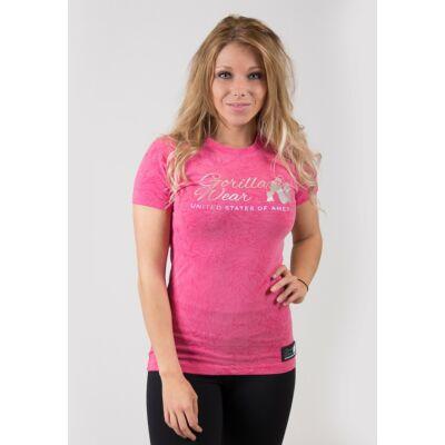 Gorilla Wear Camden T-shirt (pink)