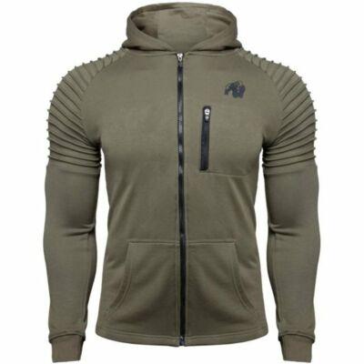 Gorilla Wear Delta Hoodie (army zöld)