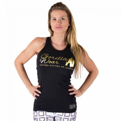 Gorilla Wear Florence Tank Top (fekete/arany)