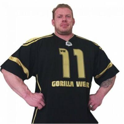 Gorilla Wear Gw Athlete T-Shirt Dennis Wolf (fekete/arany)