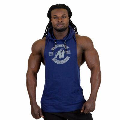 Gorilla Wear Lawrence Hooded Tank Top (navy kék)