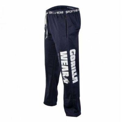 Gorilla Wear Logo Mesh Pants (navy kék)
