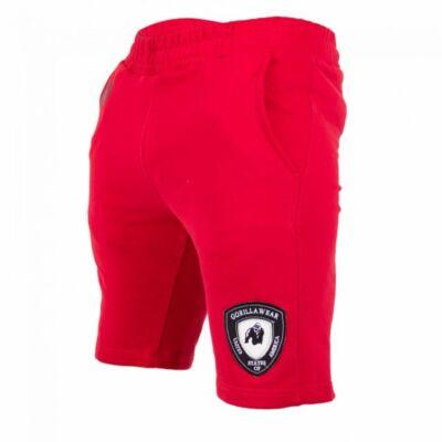 Gorilla Wear Los Angeles Sweat Shorts (piros)