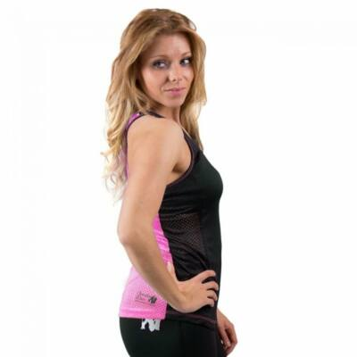 Gorilla Wear Marianna Tank Top (fekete/pink)