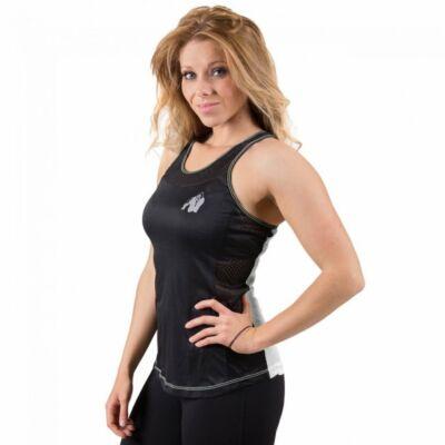 Gorilla Wear Marianna atléta trikó (fekete/fehér)