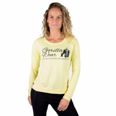 Gorilla Wear Riviera Sweatshirt (sárga)