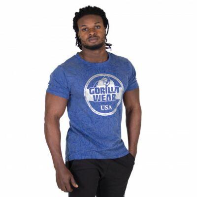 Gorilla Wear Rocklin T-shirt (kék)