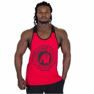 Gorilla Wear Roswell Tank Top (piros/fekete)