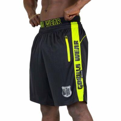 Gorilla Wear Shelby Shorts (fekete/lime)