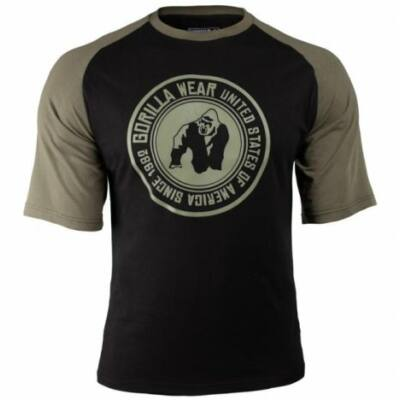 Gorilla Wear Texas T-Shirt (fekete/army zöld)