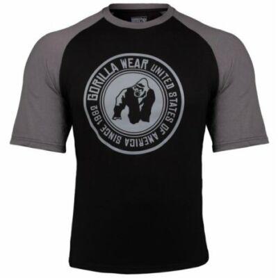 Gorilla Wear Texas T-Shirt (fekete/szürke)