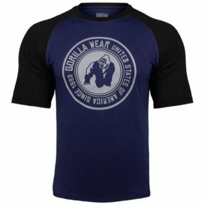 Gorilla Wear Texas T-Shirt (navy kék/fekete)