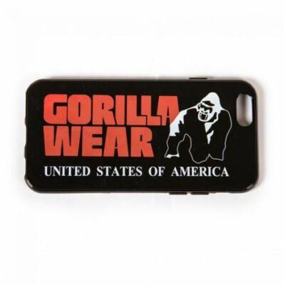 Gorilla Wear Iphone 6 Case Men Logo (fekete/piros)