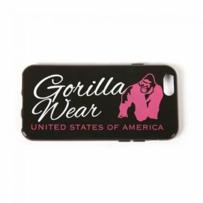 Gorilla Wear Iphone 6 Case Women Logo (fekete/pink)