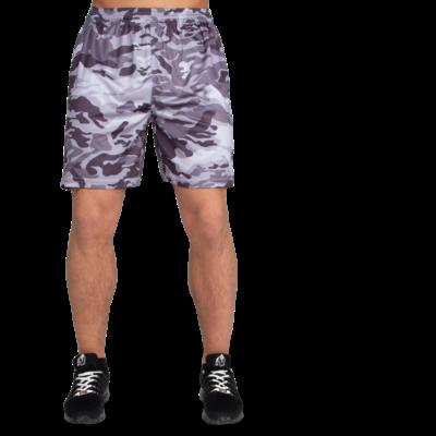 Gorilla Wear Kansas Shorts (fekete/szürke/terepmintás)