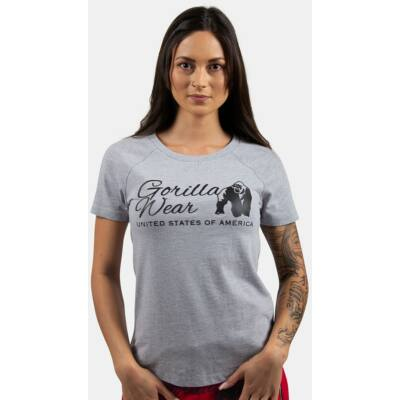 Gorilla Wear Lodi T-shirt (világosszürke)