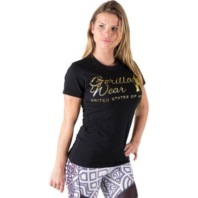 Gorilla Wear Luka T-shirt (fekete/arany)