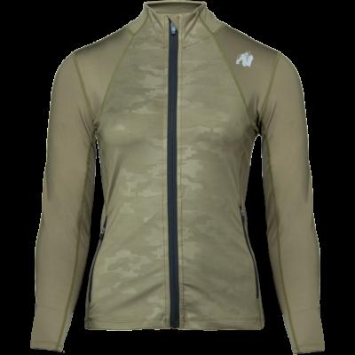 Gorilla Wear Savannah Jacket (army zöld/terepmintás)