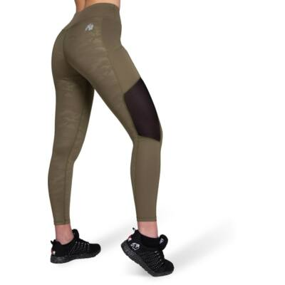 Gorilla Wear Savannah Mesh Tights (army zöld)
