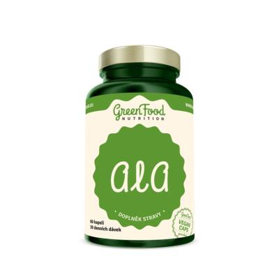 GreenFood ALA (alfa-liponsav) (60 kapszula)