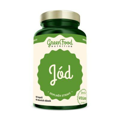 GreenFood Jód (60 kapszula)