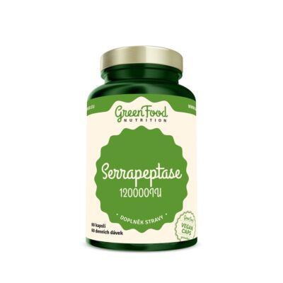 GreenFood Serrapeptase (szerrapeptáz) 120.000 IU (60 kapszula)