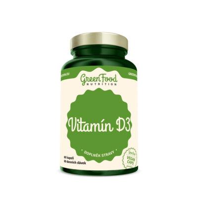 GreenFood Vitamin D3 (60 kapszula)