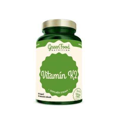 GreenFood Vitamin K2 (60 kapszula)
