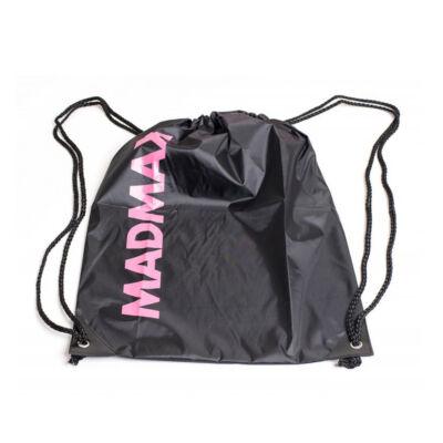 MADMAX Waterpoof Gymsack Edzőzsák (Fekete/Rózsaszín)
