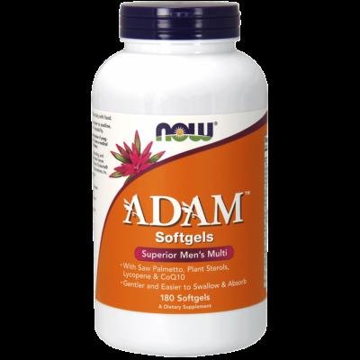NOW Foods ADAM™ Men's Multiple Vitamin (180 lágy kapszula)