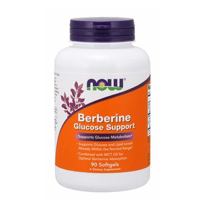 NOW Foods Berberine Glucose Support (90 lágy kapszula)