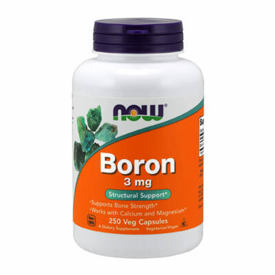 NOW Foods Boron 3mg (250 kapszula)