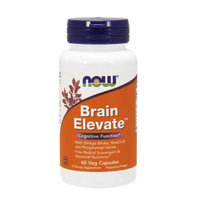 NOW Foods Brain Elevate (60 kapszula)