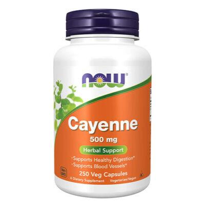 NOW Foods Cayenne 500 mg (250 kapszula)