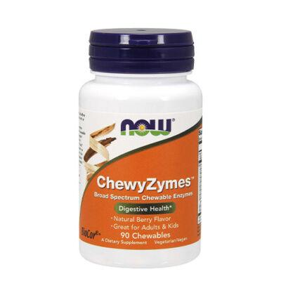 NOW Foods ChewyZymes™ (90 rágótabletta)