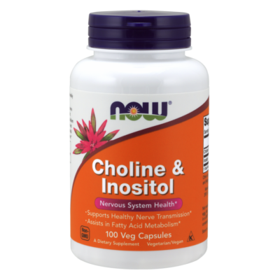 NOW Foods Choline & Inositol (100 kapszula)