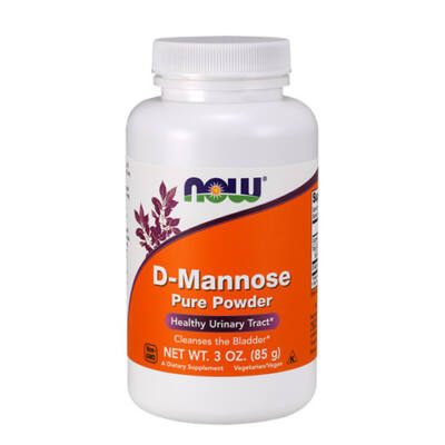 NOW Foods D-Mannose Pure Powder (85g)
