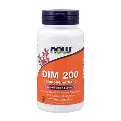NOW Foods DIM 200 Diindolylmethane (90 kapszula)
