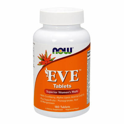 NOW Foods Eve™ Women's Multiple Vitamin (180 tabletta)