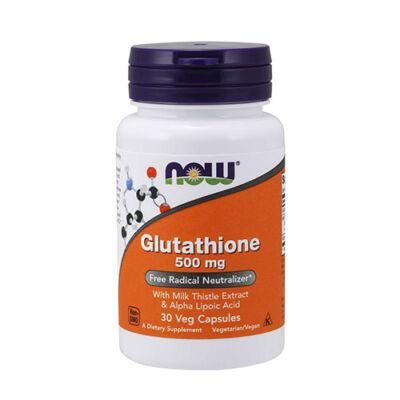 NOW Foods Glutathione 500mg (30 kapszula)