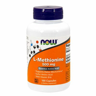 NOW Foods L-Methionine 500mg (100 kapszula)
