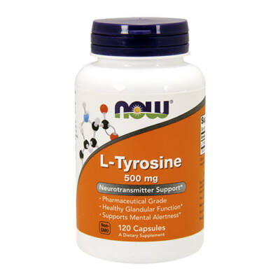 NOW Foods L-tyrosine (120 kapszula)