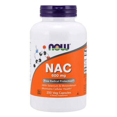 NOW Foods NAC 600mg (250 kapszula)
