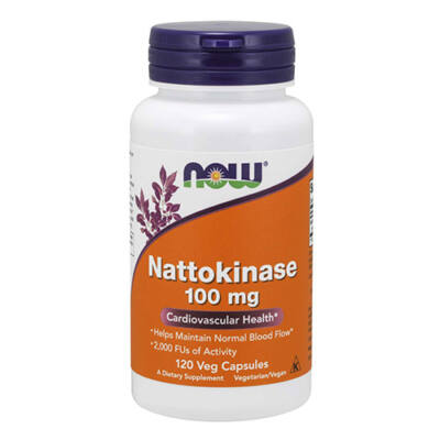 NOW Foods Nattokinase 100 mg (120 kapszula)