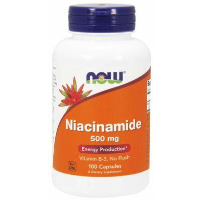 NOW Foods Niacinamide 500mg (100 kapszula)