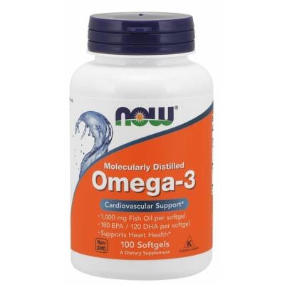 NOW Foods Omega-3 (100 lágy kapszula)
