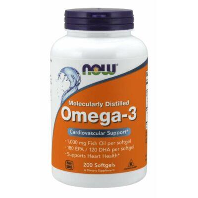 NOW Foods Omega-3 (200 lágy kapszula)