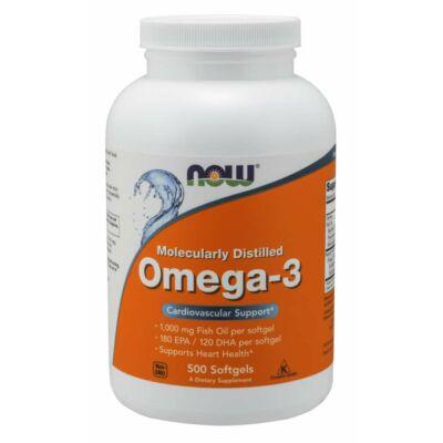 NOW Foods Omega-3 (500 lágy kapszula)