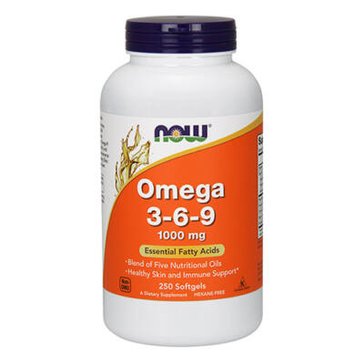 NOW Foods Omega 3-6-9 1000mg (250 lágy kapszula)